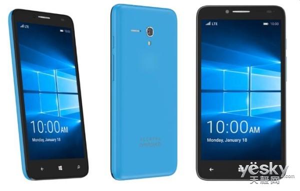 阿尔卡特将推新款Win10旗舰手机Idol Pro 4