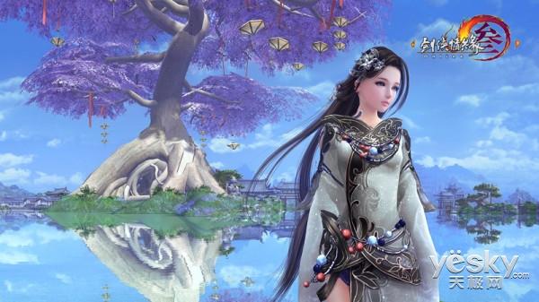 如诗如画 《剑网3》有爱玩家自制高清壁纸赏