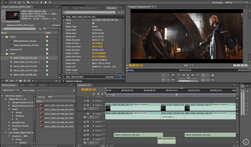 Adobe Premiere截图4