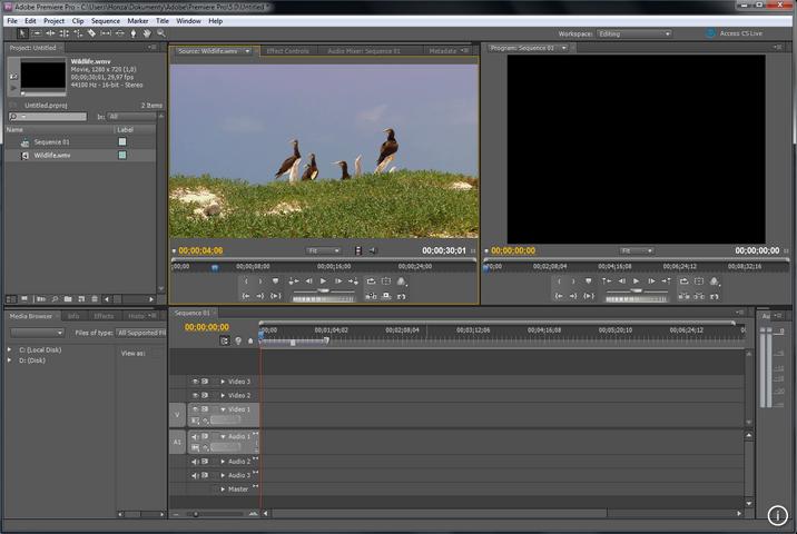 Adobe Premiere截图3
