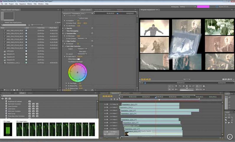 Adobe Premiere截图1