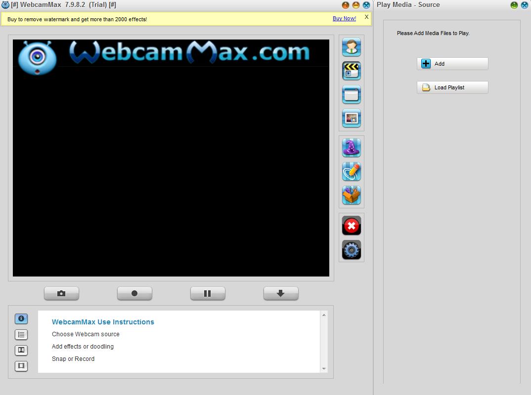 WebcamMax截图3