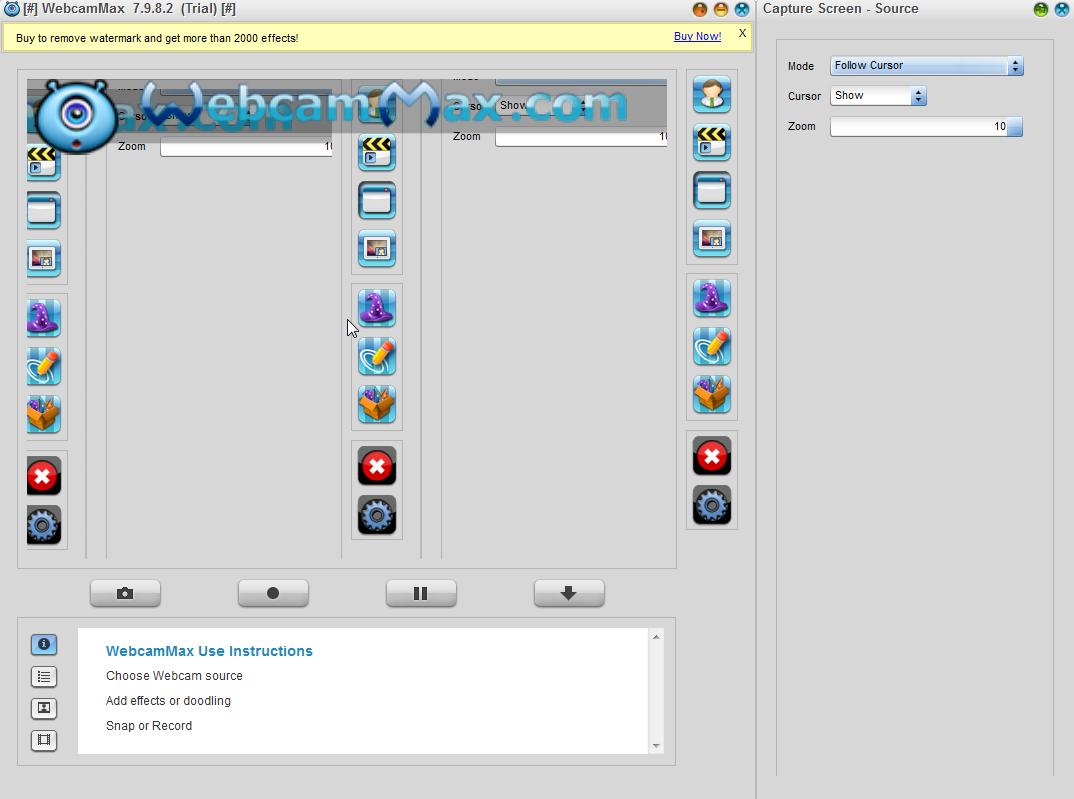 WebcamMax截图2