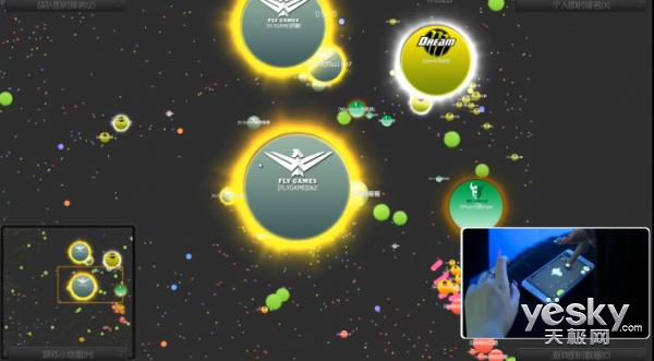 《球球大作战》嘉年华B组战报:FlyGame独秀