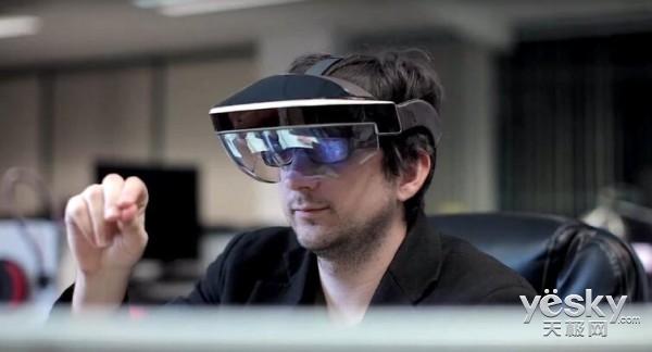 传微软将自主生产增强现实头盔HoloLens