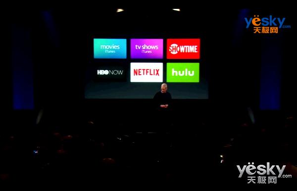 你好Siri!Apple TV在苹果发布会上的再亮像