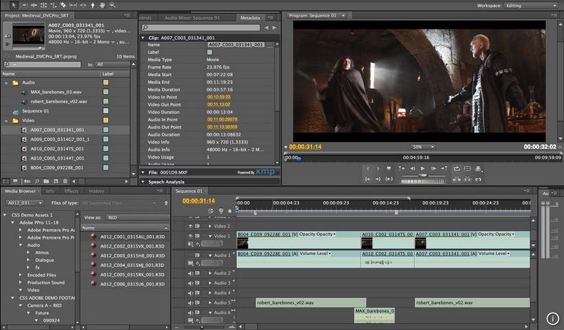 Adobe Premiere Pro截图4