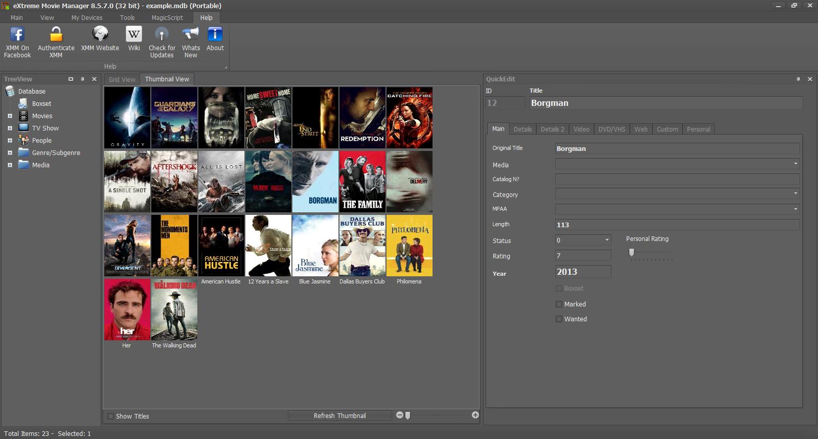 eXtreme Movie Manager截图3
