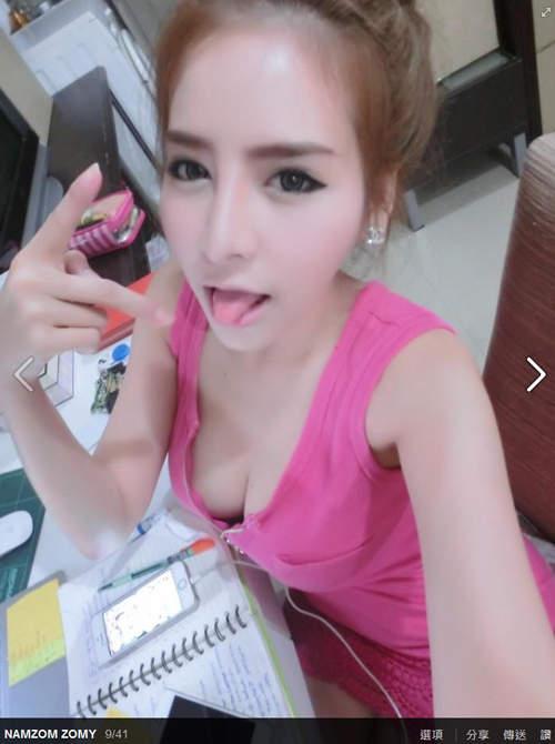 《泰国10大话题美女》NamzomZomy超丰满上围让网友口水流出来 - 图片13