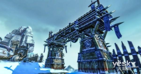 《笑傲江湖OL》雪地新景精美实拍壁纸