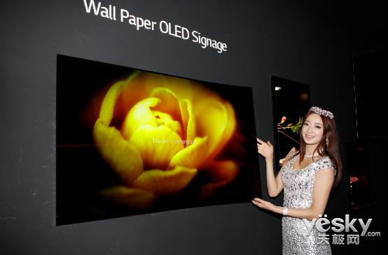 LG商用显示璀璨亮相IFC 小伙伴们都惊呆了