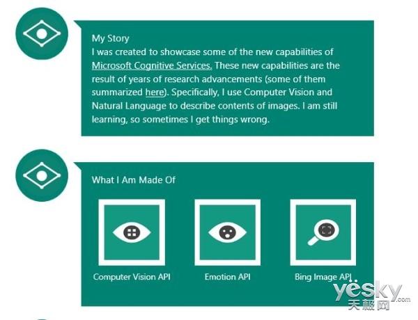 微软发布网页版CaptionBot 可描述图片内容