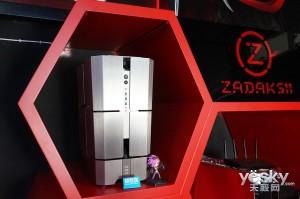 有妹子有奖品更有超酷PC 视频直播水冷装机