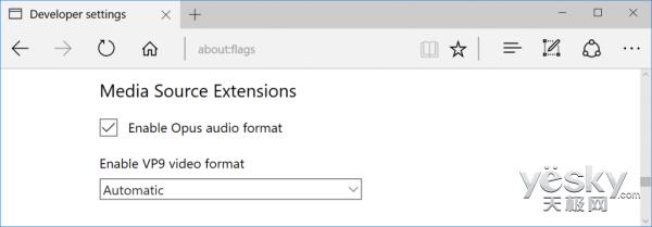 Win10 Edge浏览器新增支持VP9等视频流格式