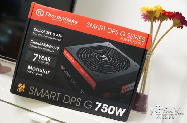 Tt SMART DPS G750W电源评测