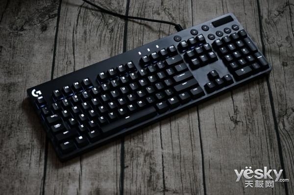 Cherry茶轴+简约设计 罗技G610机械键盘评测