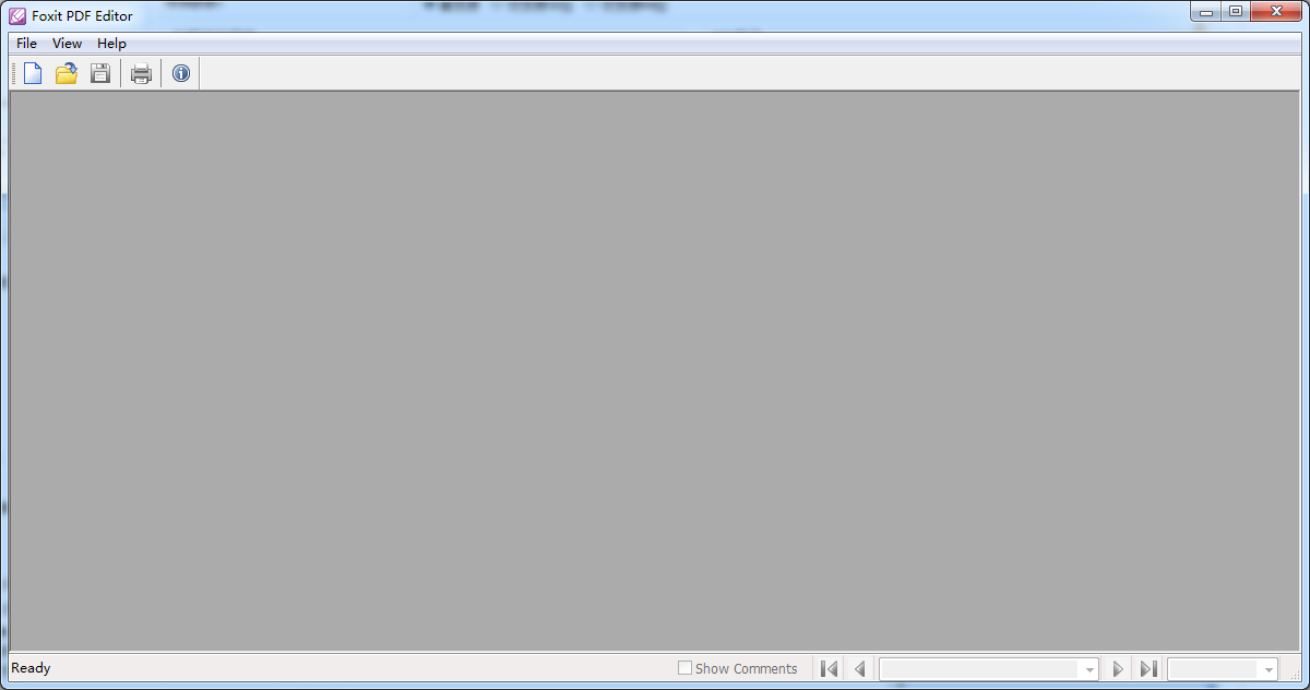 Foxit PDF Editor截图4