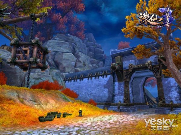 《诛仙3》新灵境战火燃爆天界