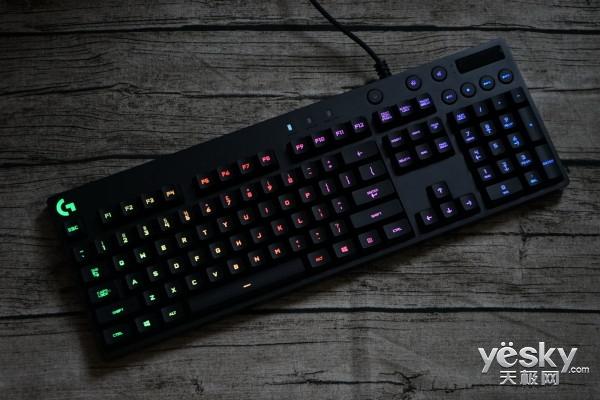 全彩Romer-G轴体 罗技G810机械键盘评测
