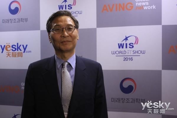 独家专访韩国信息通讯技术协会本部长金�俳�
