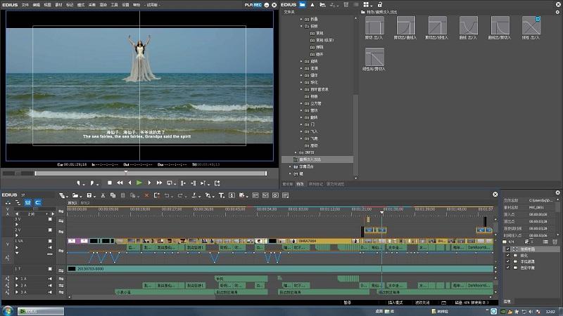 EDIUS Pro非线性视频剪辑软件 x64截图1