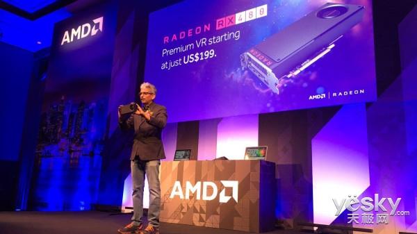 AMD发布Radeon RX480显卡 交火超GTX1080