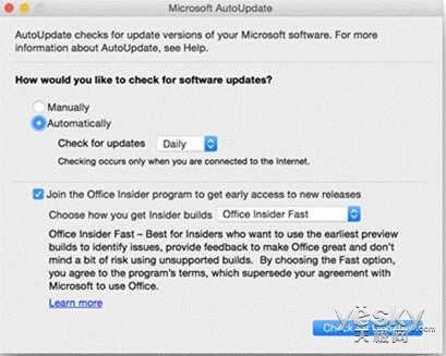 微软Mac版Office Insider提供快速更新通道_天极yesky新闻频道