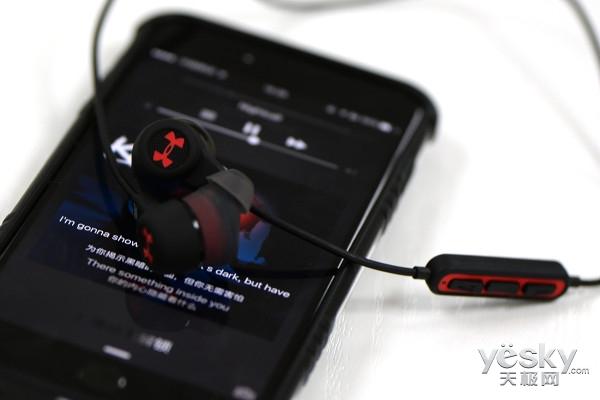 旋锁佩戴技术 JBL X UA无线运动耳机评测