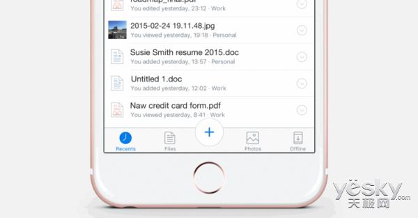 云存储服务Dropbox新特性 支持拍照保存文档