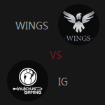 小组Wings VS IG