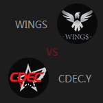 小组Wings VS CDEC.Y