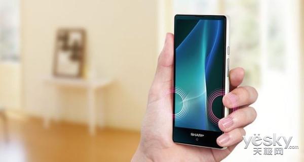夏普超窄边框手机mini版来了:边框太神奇