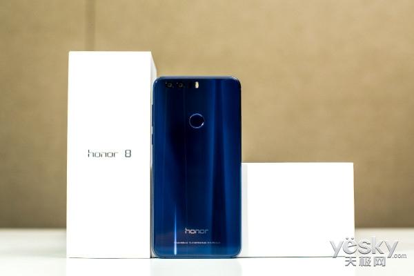 荣耀8上手评测 双面玻璃打造出最美荣耀手机