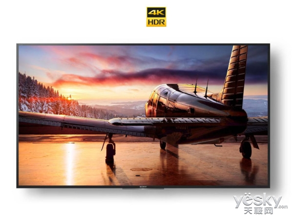 索尼推出新款Z9D电视 100英寸4K HDR屏加持
