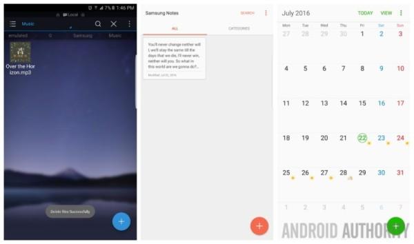 三星Note 7更多系统截图曝光 新功能提前看