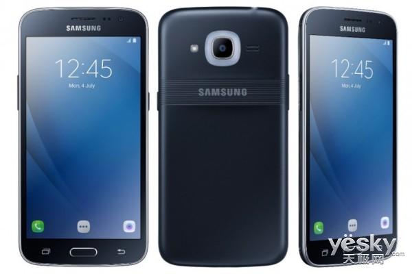 储存翻倍! 三星推入门级手机Galaxy J2 Pro