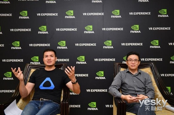 NVIDIA和HTC强者联手 ChinaJoy2016联合专访