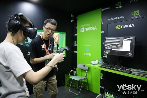 NVIDIA CJ展台实况 黑科技引领未来潮流