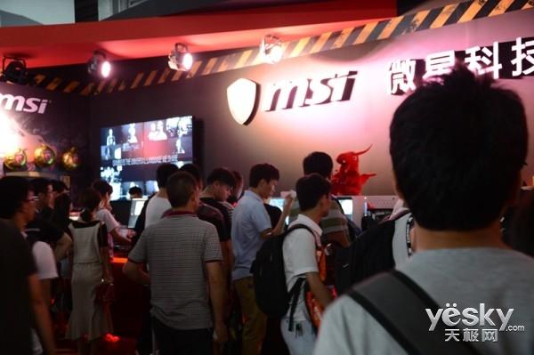 chinajoy2016:微星展台报道