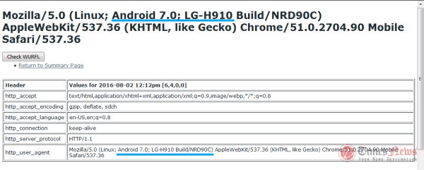 LG V20设备型号LG-H900确认 首发安卓7.0