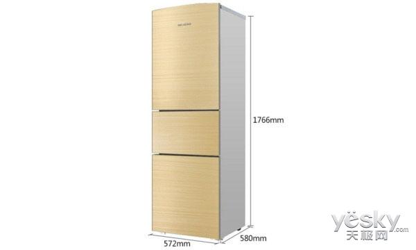 吃货的福音!这些大容量三门冰箱实现你的梦