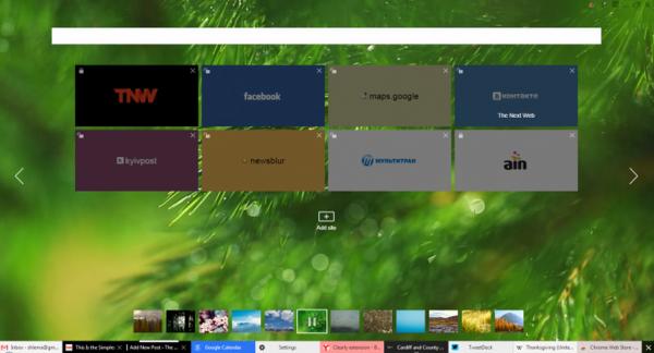 yandex浏览器截图1