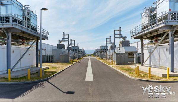 不久 微软数据中心可再生能源利用率将达50%