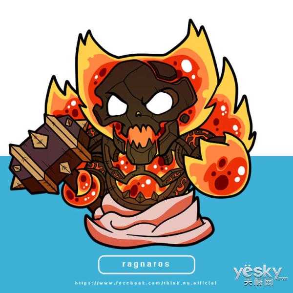 《炉石传说》玩家手绘宏达故事背景下的芸芸