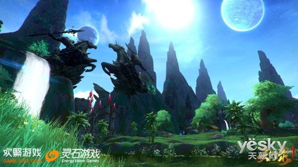 天衍录绛灵封测结束 特色星域玩法广受赞誉