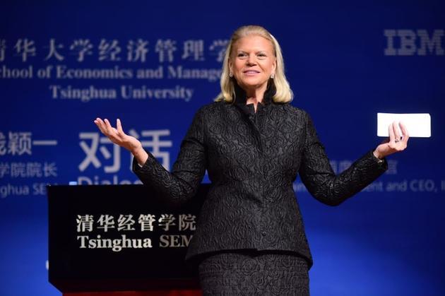 IBM公司董事长、总裁兼CEO罗睿兰