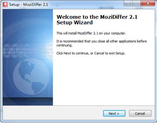 CAD图纸对比软件(MoziDiffer)截图2