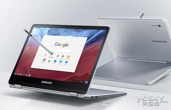 三星Chromebook Pro变形本亮相:S Pen加持