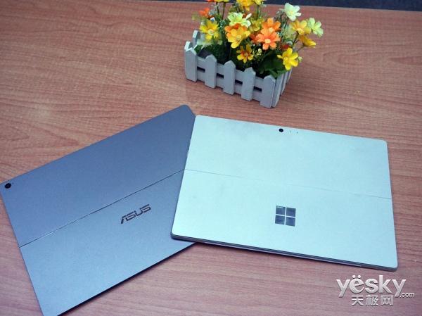 当华硕灵焕3 pro与Surface Pro4相遇 你粉谁