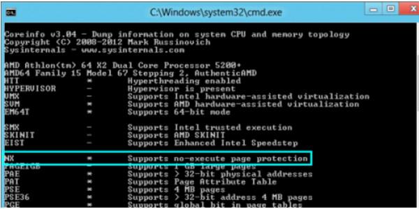 Coreinfo(CPU信息查看工具)截图1
